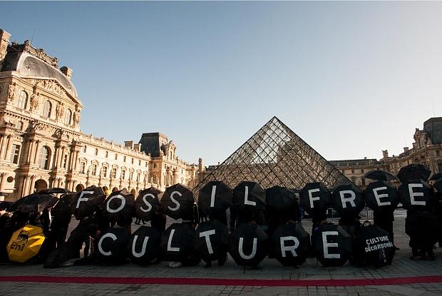 Çağdaş sanat dünyasında petrol protestoları devam ediyor