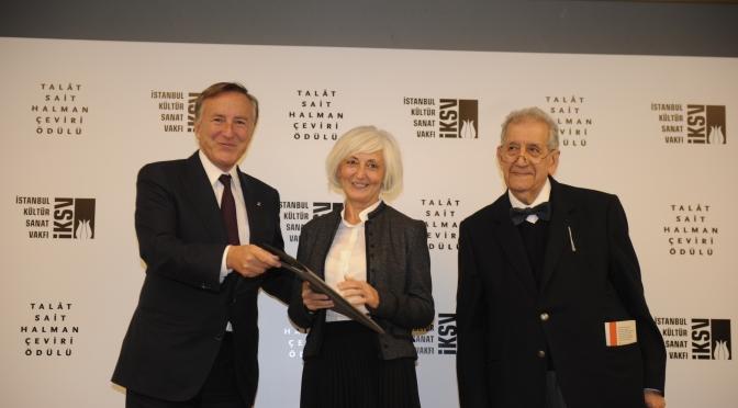 Talat Sait Halman Çeviri Ödülü'nün ilk sahibi belirlendi!