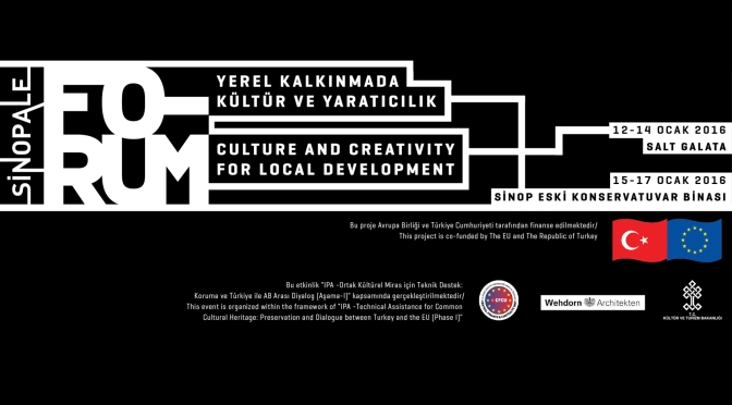 Sinopale Forum Ocak'ta İstanbul ve Sinop'ta