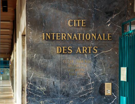 Cité des Arts sanatçıları ile buluşma