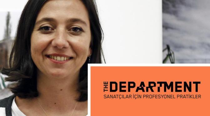 Sanatçılar için Profesyonel Pratikler ikinci konuşmasıyla The Art Department'ta