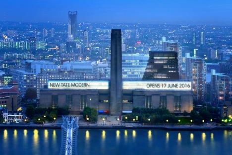 Londra'nın yeni Tate Modern'i geliyor