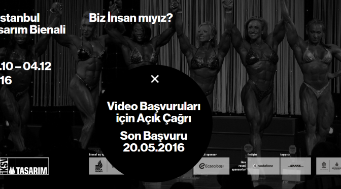 3. İstanbul Tasarım Bienali'nden açık çağrı