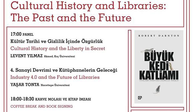 """""""Kültür Tarihi ve Kütüphaneler: Geçmiş ve Gelecek"""" etkinliği 31 Mart'ta ANAMED'de"""