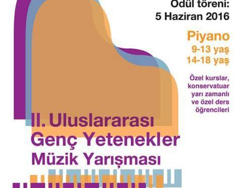 2. Uluslararası Genç Yetenekler Müzik Yarışması için başvurular açıldı