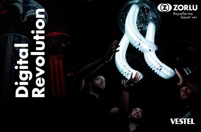 """Zorlu PSM'de """"Digital Revolution"""" sergisi kapsamında """"Digilogue Paneli""""gerçekleşecek"""