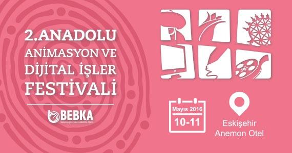 2. Anadolu Animasyon ve Dijital İşler Festivali Başlıyor