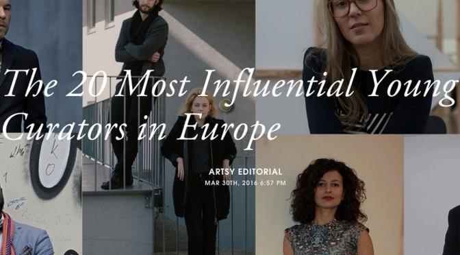Artsy, Avrupa'daki 20 ilham verici genç küratörü belirledi