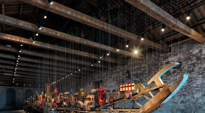 Venedik Bienali 15. Uluslararası Mimarlık Sergisi'ndeki Türkiye Pavyonu açıldı