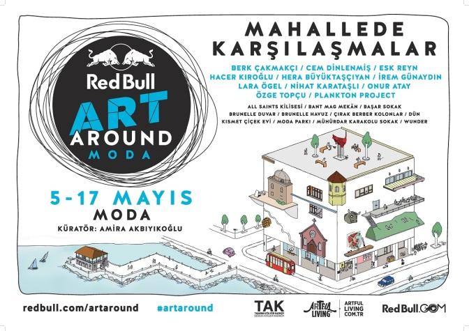 Red Bull Art Around, Moda'yı çağdaş sanatla buluşturacak
