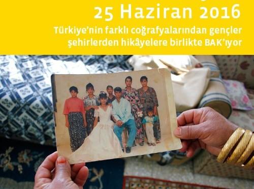 Hatırlamak ve Anlatmak için Şehre BAK 2016 Sergisi İzmir K2 Güncel Güncel Sanat Merkezi'nde
