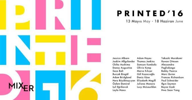 Printed'16 sergisi, 13 Mayıs'ta başlıyor