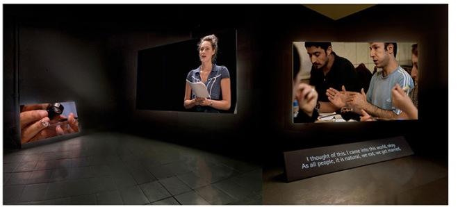 Ergin Çavuşoğlu ve Gülsün Karamustafa Guggenheim Müzesi'nde