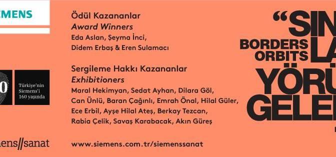 """Siemens Sanat """"Sınırlar Yörüngeler 18"""" Yarışması sonuçlandı"""