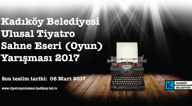Kadıköy Belediyesi'nden Tiyatro Oyunu Yarışması