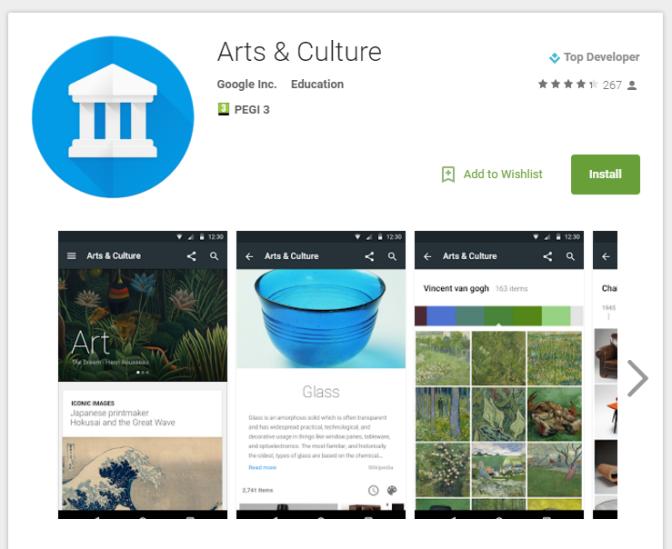 Google'ın yeni uygulaması ile yüzlerce müze telefonda