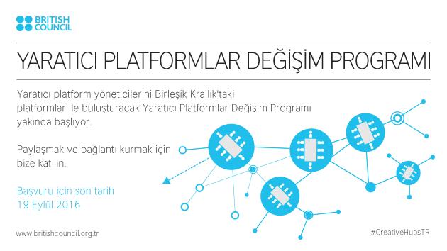 Yaratıcı Platformlar Değişim Programı başvuruları başladı
