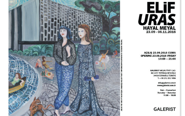 Elif Uras'ın yeni sergisi Galerist'te