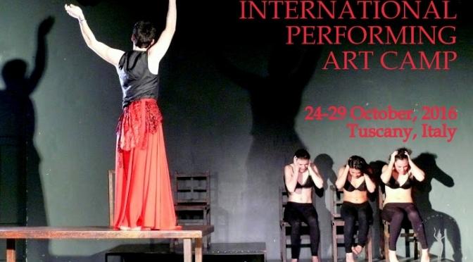 Uluslararası Performans Sanatları Kampı'ndan açık çağrı