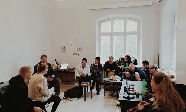 Estonya Çağdaş Sanatı Geliştirme Merkezi'nden masterclass