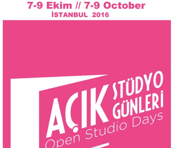 Açık Stüdyo Günleri 7 Ekim'de başlıyor