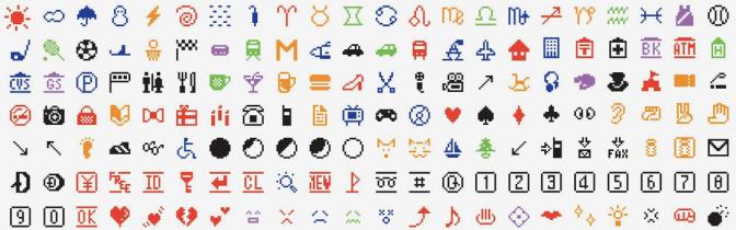 Emoji'ler MoMA'nın kalıcı koleksiyonunda