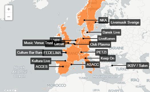 Salon, Live DMA Avrupa ağına katıldı
