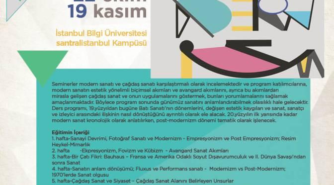 Bilgi Eğitim'den Sanat Tarihi programı