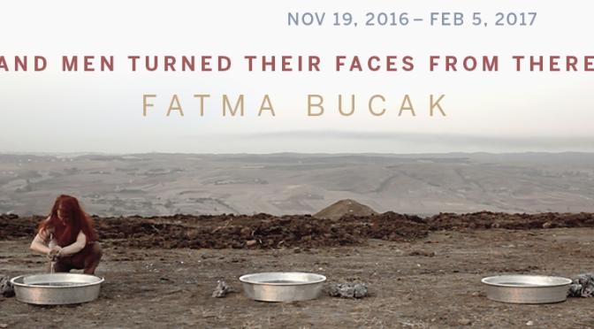 Fatma Bucak solo sergisi ile Brown University David Winton Bell Gallery'de