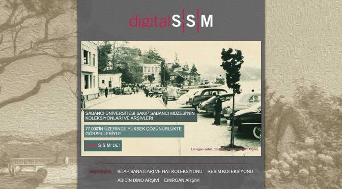 digitalSSM: sanat alanında kapsamlı bir dijital arşiv