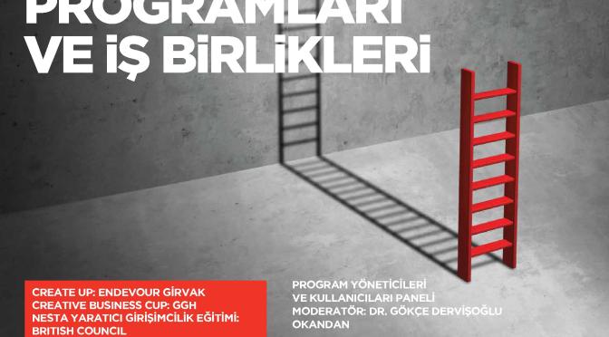 CAMMA Perşembe Konuşması: Türkiye'de Yaratıcı Girişimcilik Programları ve İşbirlikleri