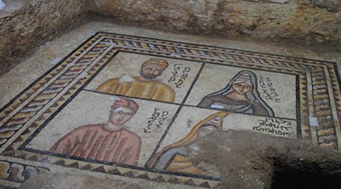 Şanlıurfa'da 1800 yıllık mozaikler keşfedildi