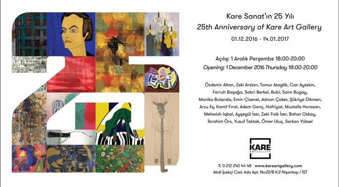 Kare Sanat, 25. yılını özel bir sergi ile kutluyor