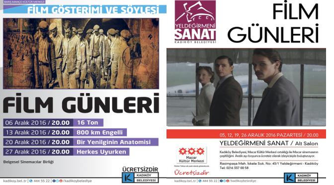 Kadıköy'de Belgesel ve Sinema Günleri