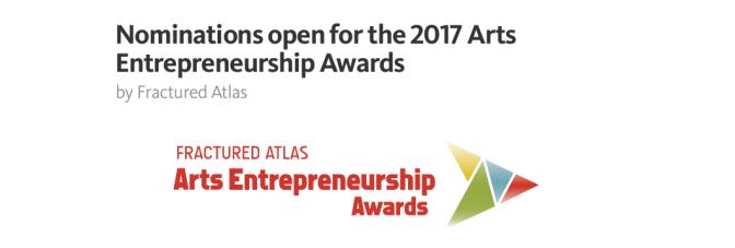 Arts Entrepreneurship Awards 2017 adaylık başvuruları başladı