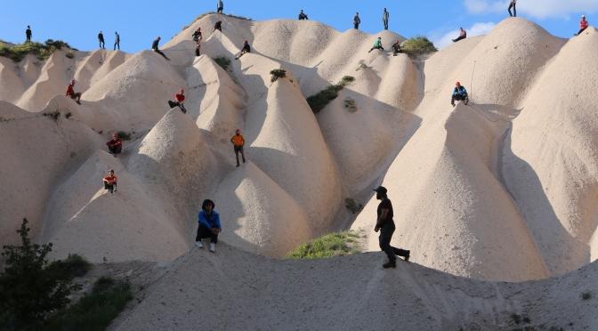 Maider Lopez'in Cappadox işleri İspanya çağdaş sanat platformlarında
