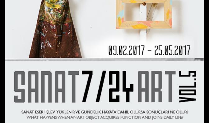 Armaggan Gallery'den fonksiyonel sergi: SANAT 7/24