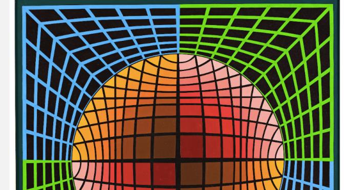 Victor Vasarely'e bir bakış
