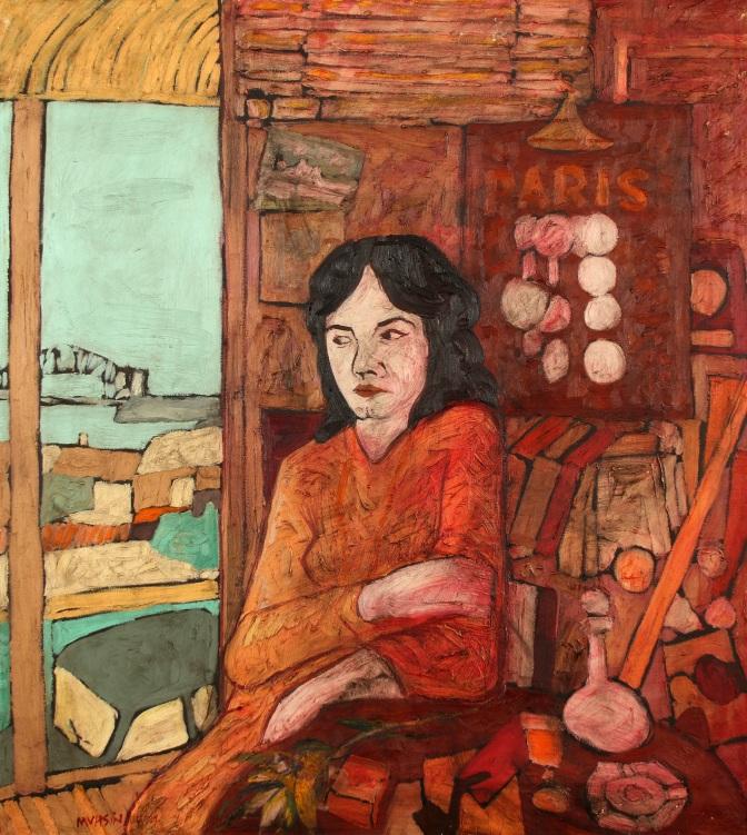 İş Sanat Kibele Galerisi'nde Ressam Muhsin Kut retrospektifi