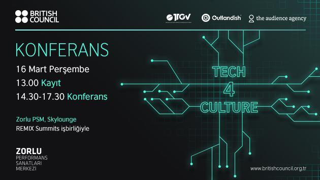 Tech4Culture konferansı 16 Mart'ta Zorlu Performans Sanatları Merkezi'nde