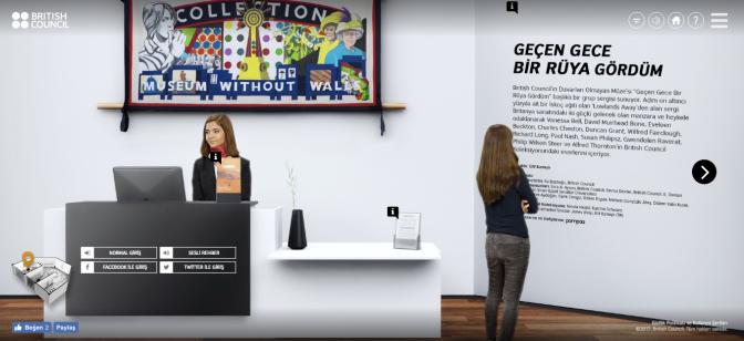 British Council'dan dijital bir sergi deneyimi