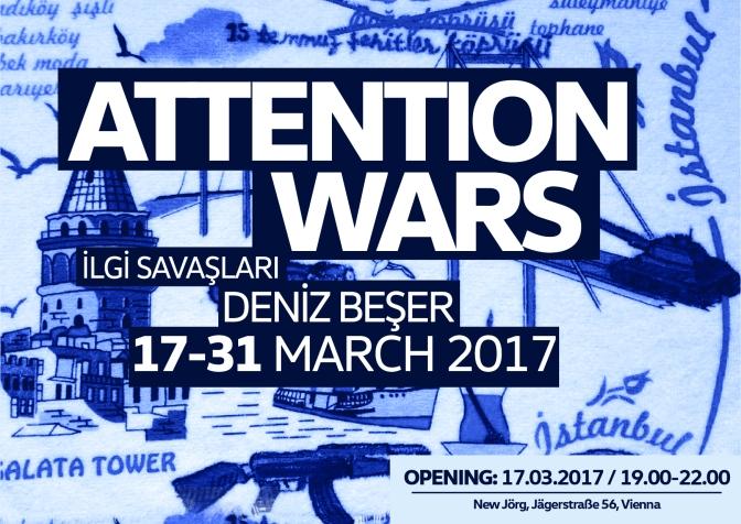 Deniz Beşer, Viyana'daki ilk kişisel sergisi ile New Jörg'de