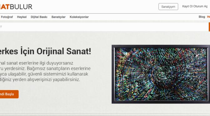Sanatın pazaryeri: sanatbulur.com