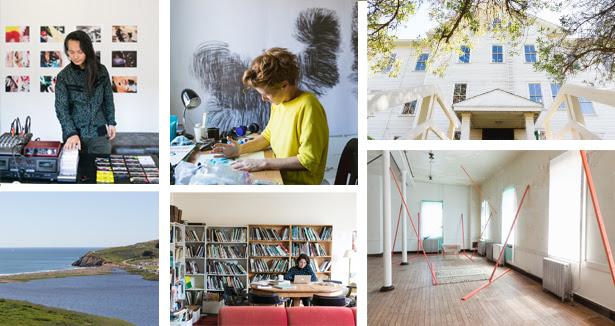 Headlands Center for the Arts'dan Artist in Residence programı