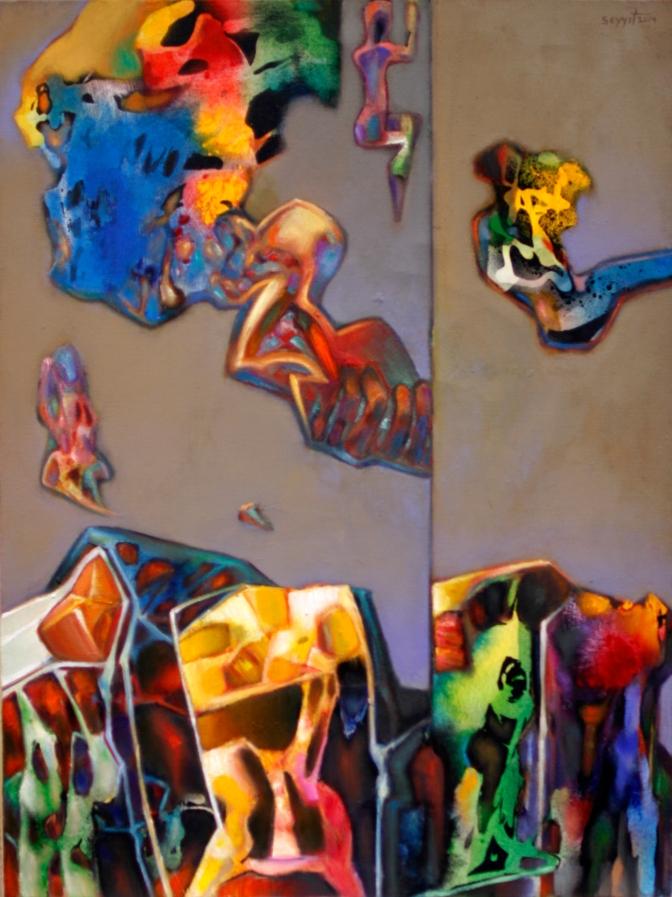 İş Sanat Kibele Galerisi'nde Seyyit Bozdoğan Retrospektifi