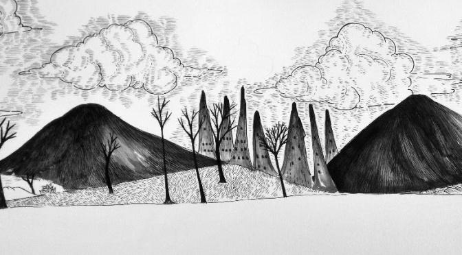 """Melike Kılıç'ın ilk kişisel sergisi """"Terra Tenebris"""" BLOK art space'de"""