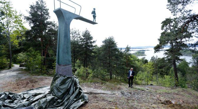 Elmgreen & Dragset ikilisinin yeni yerleştirmesi Oslo'da