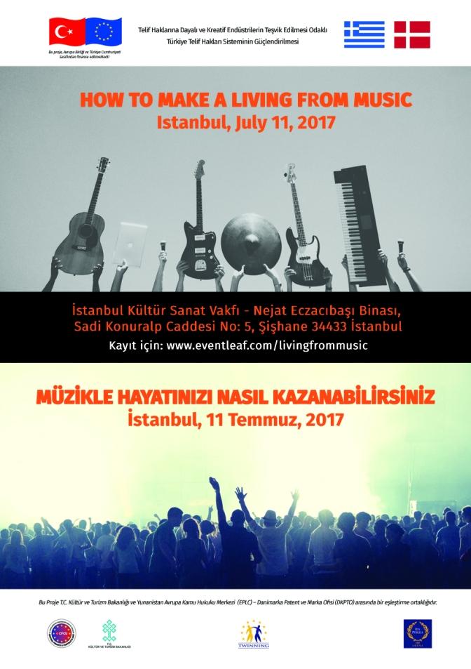 İKSV'de müzik çalıştayı: Müzikle Hayatınızı Nasıl Kazanabilirsiniz?