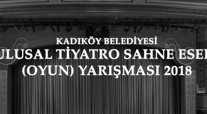 2. Ulusal Tiyatro Sahne Eseri Yarışması