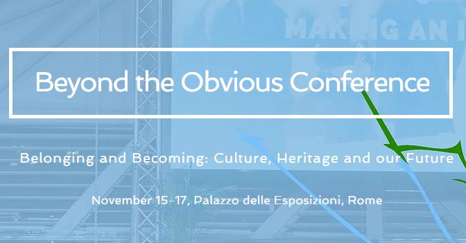 Beyond the Obvious Conference Roma'da düzenleniyor